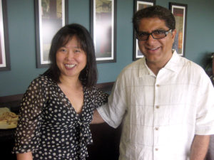 Daisy with Dr. Deepak Chopra MD